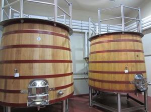 Oak fermenters