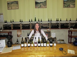 The full Calera tasting with host