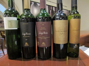 Luigi Bosca tasting