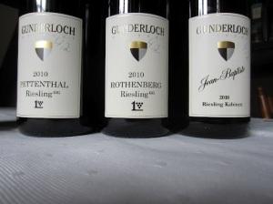 Top dry wines of Gunderloch