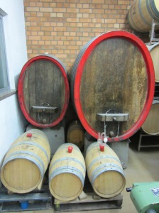 Different barrels at Horst Sauer