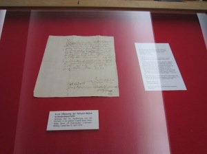 Ancient documents at Castell