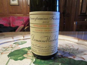 Weinbach Furstenturm Gewurztraminer Vendages Tardives 2008
