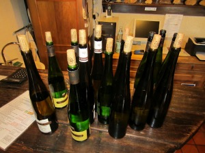 Long tastings in Alsace