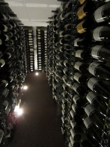 Private cellar of Domenico Clerico