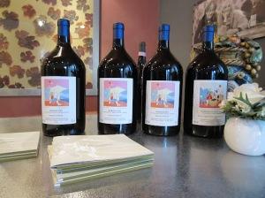 Big bottles of Roberto Voerzio