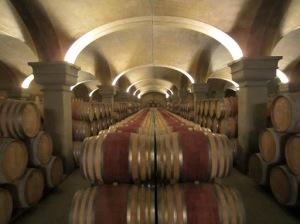 The new cellars at the Tignanello estate