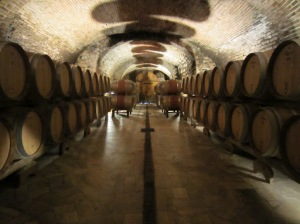 The historic Felsina cellars