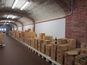 The Poliziano wine librabry
