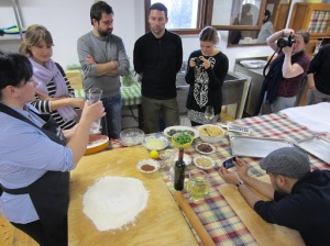 An Umbrian cooking class at Arnaldo Caprai