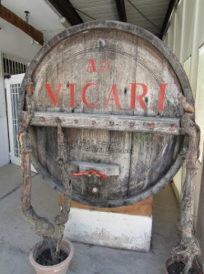 A Vicari barrel not actually in use