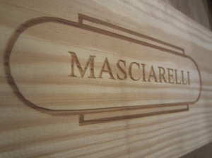 A box of Masciarelli wine