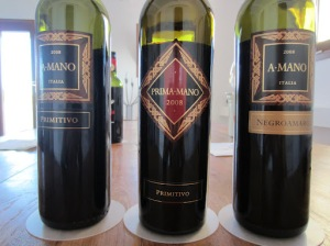 It's all about primitivo at A.Mano