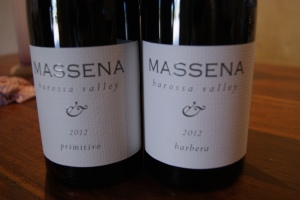 The Massena Barbera and Primitivo
