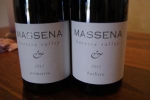 The Massena Barbera and Primitivo