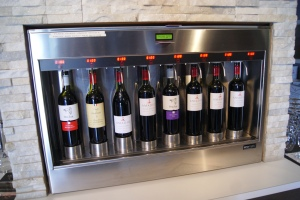 Amadio red wines under pressure