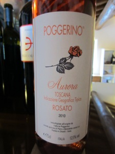Poggerino Rosato is a personal favourite