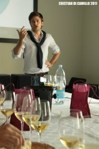 Leading a tasting