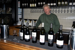 Winemaker Llew talks about his wines