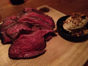 Highest quality beef awesomeness at The Town Mouse
