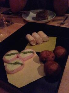 Gorgeous desserts at Kappo