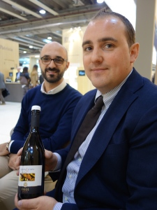 Martin Fiegl with Osteria Balla head sommelier Piero Fonseca