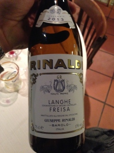 Rinaldi Langhe Freisa 2013