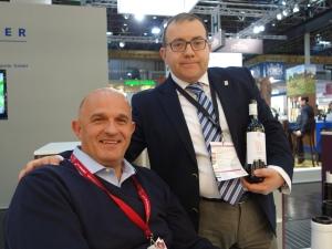 Cantina Frentana Sales Manager Felice Di Biase with importer into Australia Gianmarco Balestrini
