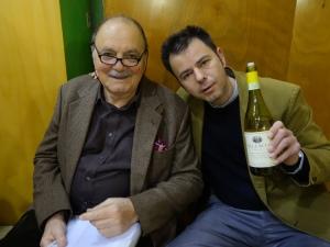 Ampelio Bucci and his son