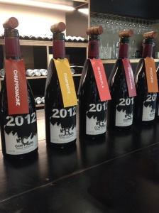 Contrada single-vineyard wines from Passopisciaro 2012 vintage