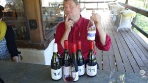 AJ Hoadley from La Violetta Wines