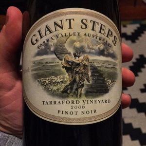 Giant Steps Tarraford Pinot Noir 2006