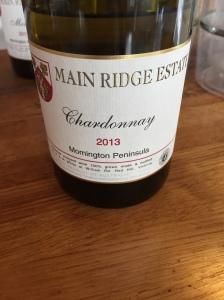 Main Ridge Chardonnay 2013