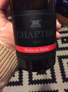 Chapter Shiraz 2014