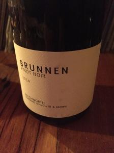 Vigneron Schmölzer & Brown Brunnen Pinot Noir 2014