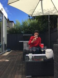 Sommelier Kara Maisano Tasting Wines Blind