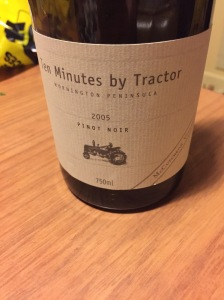 Ten Minutes by Tractor McCutcheon Vineyard Pinot Noir 2005