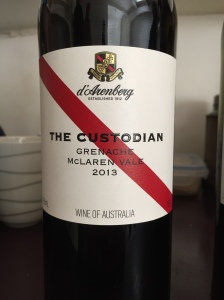 d'Arenberg The Custodian 2013