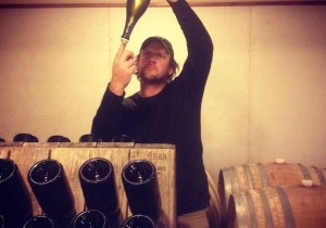 Lance Redgwell from Cambridge Road Vineyard
