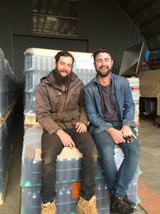 Tim & Lawrence Scanlon from Dirty Black Denim Wines